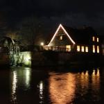 Neuenhaus Mühlenkolk Nacht