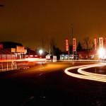 REWE parkplatz