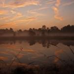 Sonnenaufgang im Gildehauser Venn